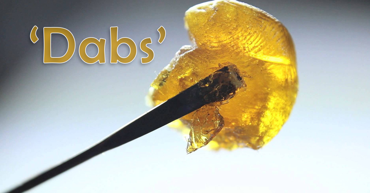 Dabs, golden weed dabs