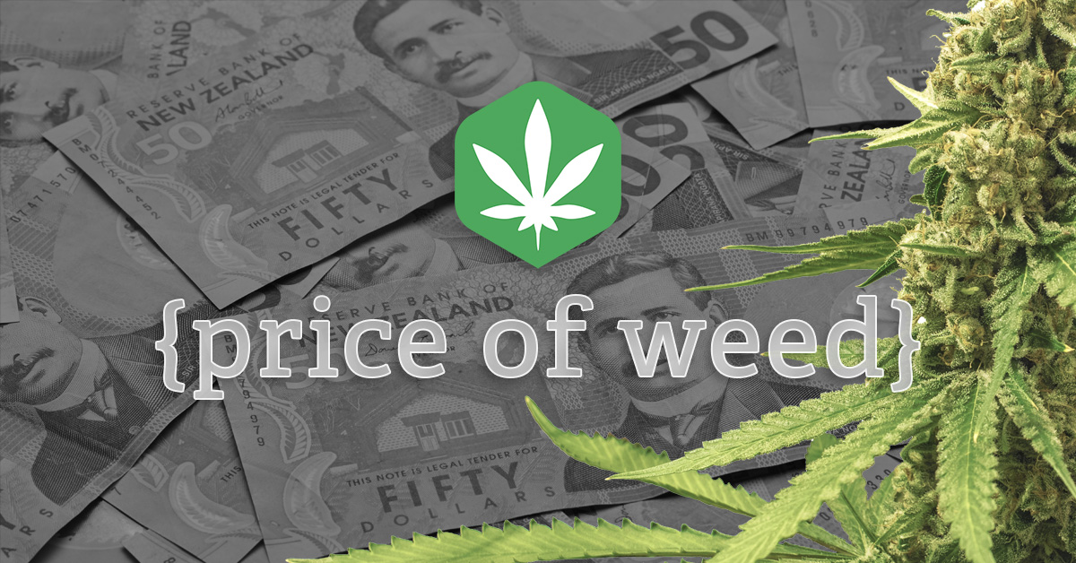 How much does weed cost in nz