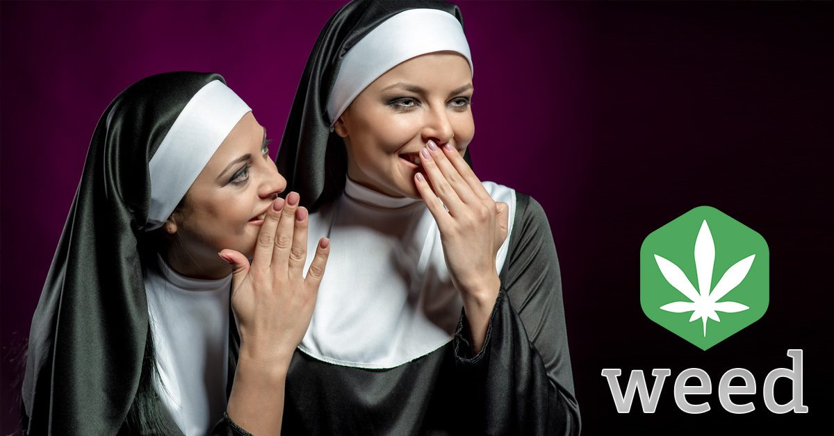 Nuns smoking weed cannabis in nz